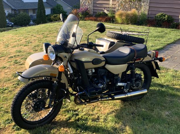 2016 Ural Gear-up 2WD Sidecar Motorcycle Outside Nanaimo