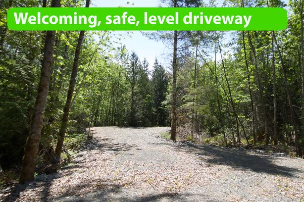 Pristine Cowichan forest 5.2 acres for 2 homes