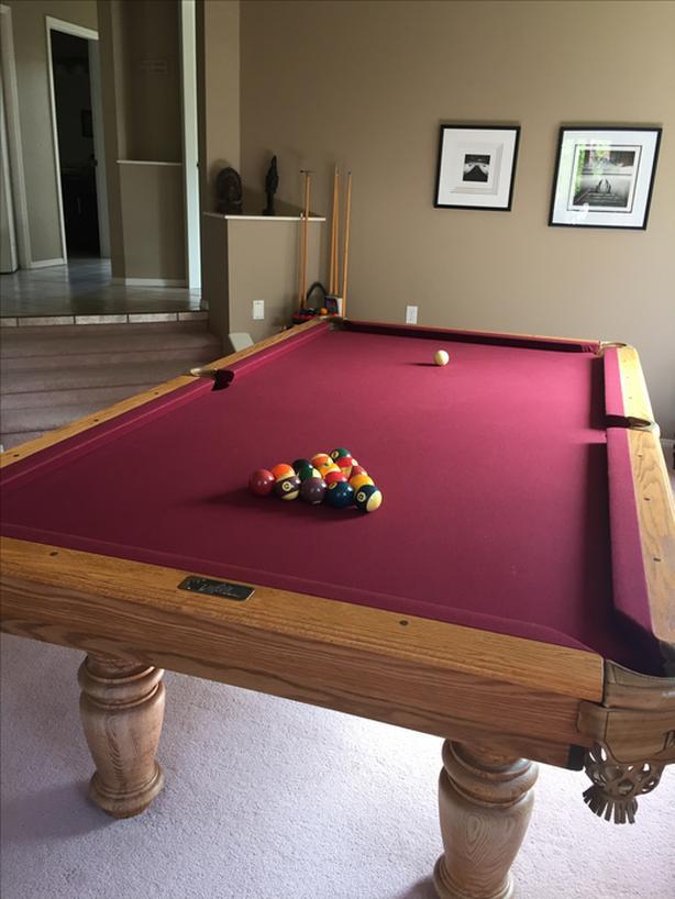Dufferin 8 X 4 Foot Pool Table