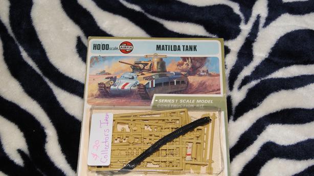 1973 Airfix Matilda Tank