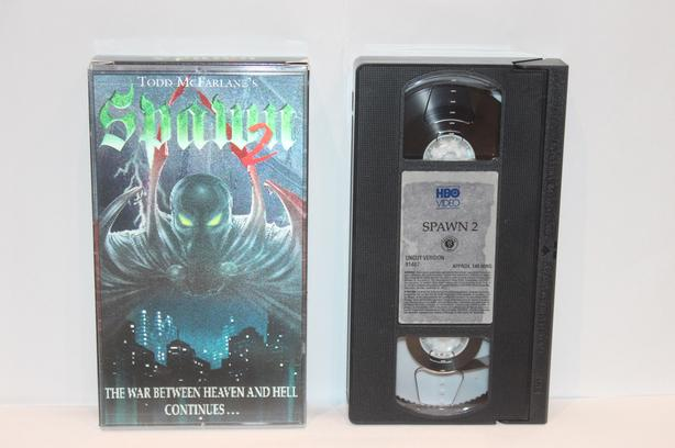 "Todd McFarlane's ""SPAWN"" on VHS"