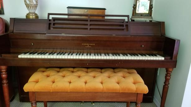 Nordheimer by Heintzman upright Piano.