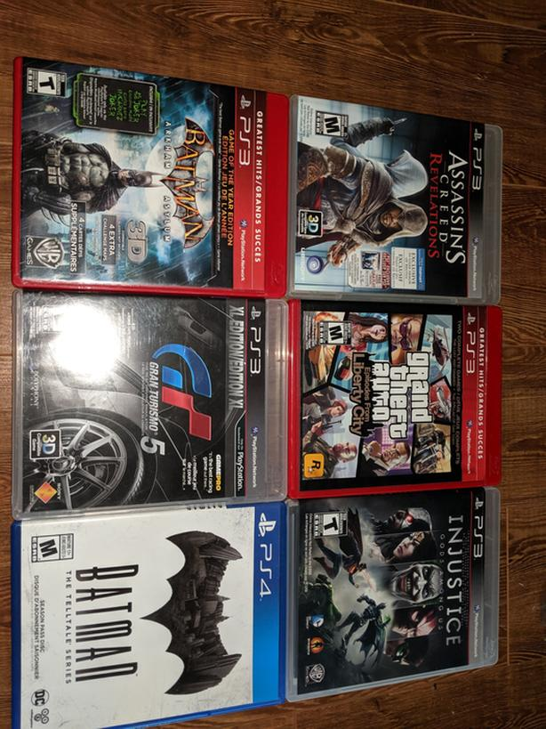 PS3, PS4, Xbox 360, Nintendo DS/3DS games