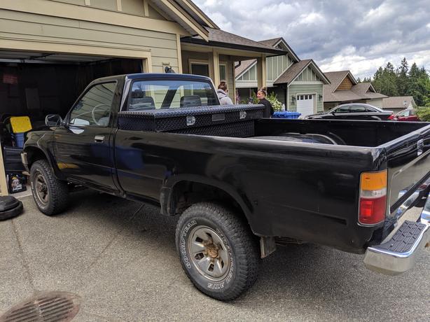 1990 Toyota Pickup Shawnigan Lake Cowichan Mobile