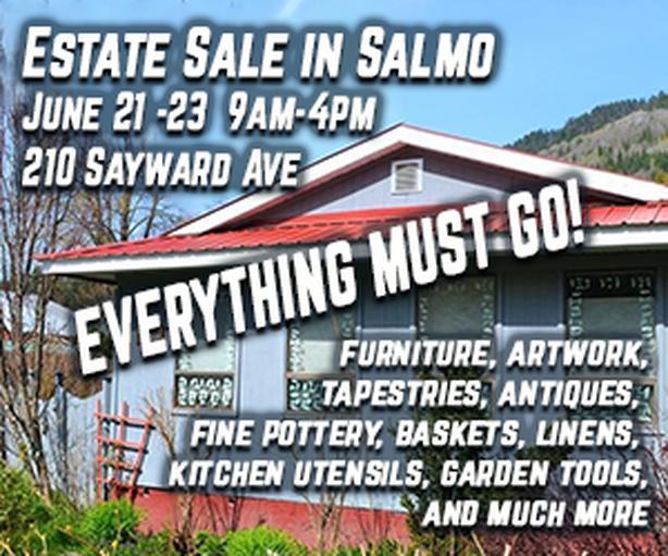Estate Sale in Salmo!