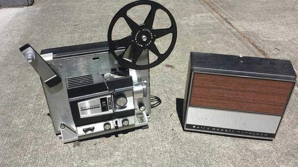 Bell and howell autoloader 8mm and super 8 film projector