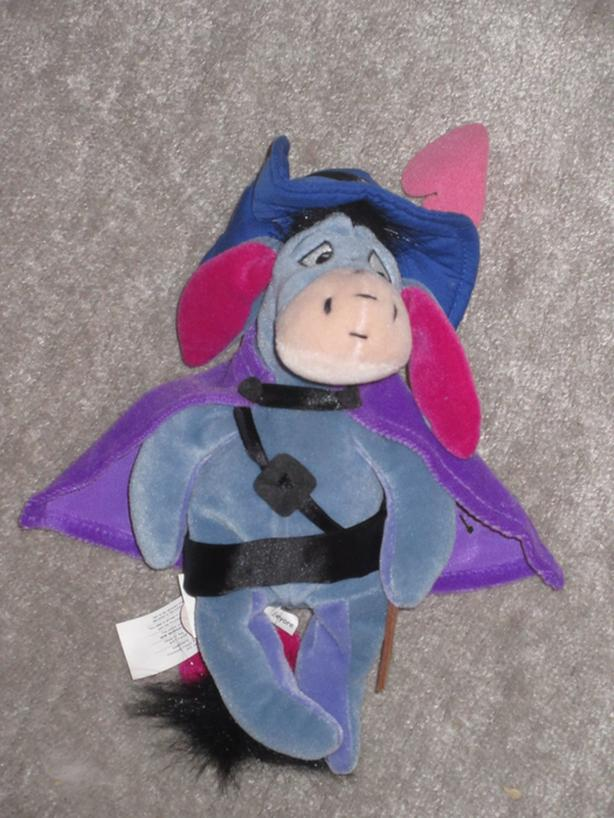 Musketeer Eeyore & Mickey, etc.