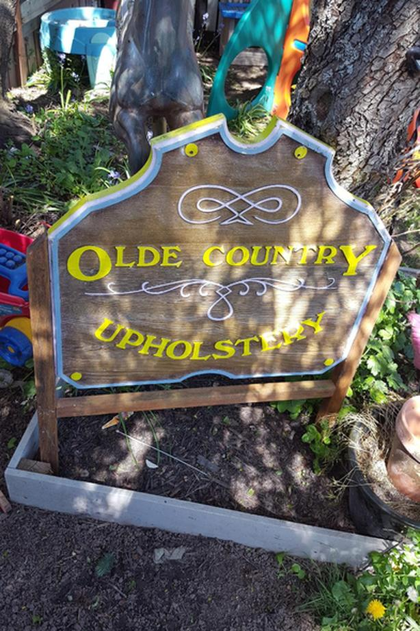 Old Country Sign