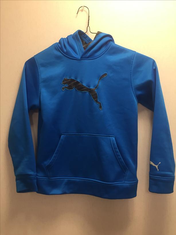 Boys puma hoodie
