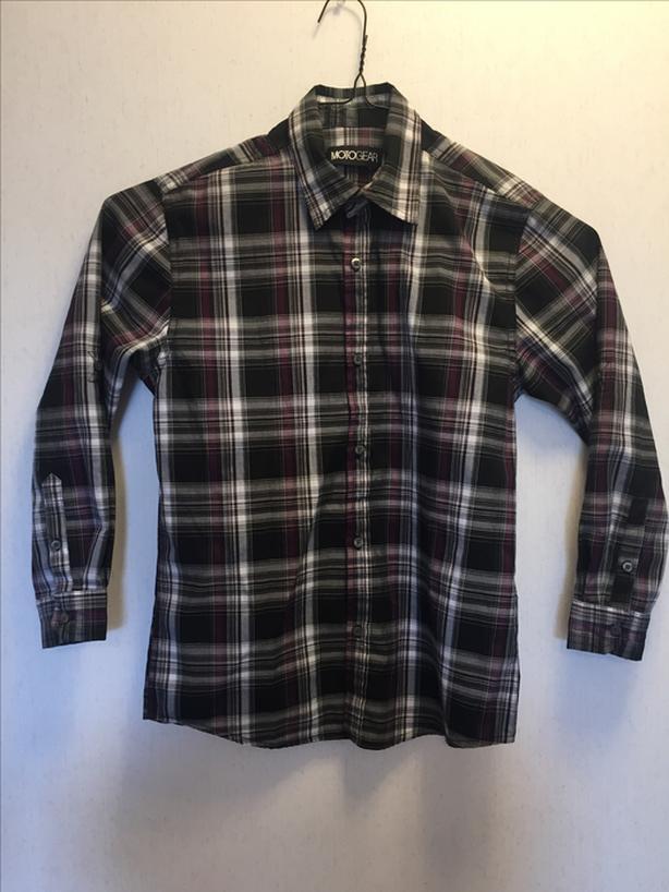Boy's Plaid shirt - Purple
