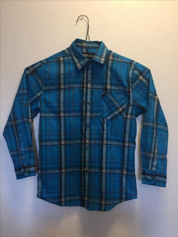 Boy's Plaid shirt - Blue