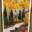 Framed Watercolour signed by Canadian listed artist Graham Herbert river scene.