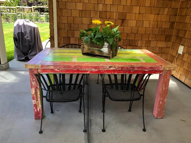 Boatwood Dining Table