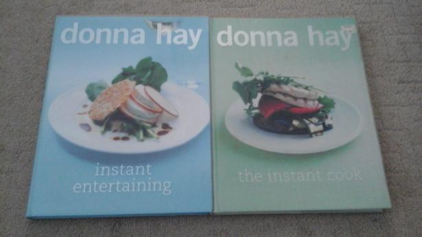 Donna Hay hardcover cookbooks