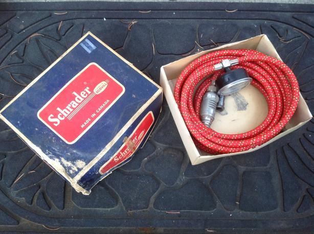 Schrader Sparkplug Air Pump