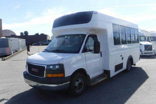 2008 GMC Savana G3500 13 Passenger Bus Diesel with Wheelchair Accessibility