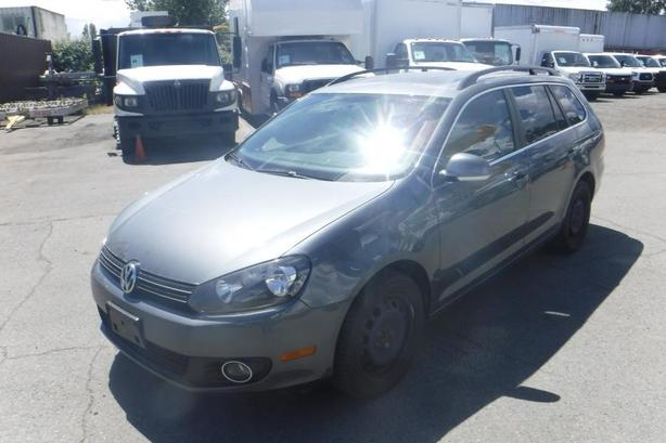 2012 Volkswagen Golf SportWagen Highline 2.0L TDI Manual