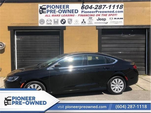 2017 Chrysler 200 LX  - Uconnect - SiriusXM - Low Mileage
