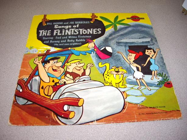 RECORD SONGS OF THE FLINTSTONES1961