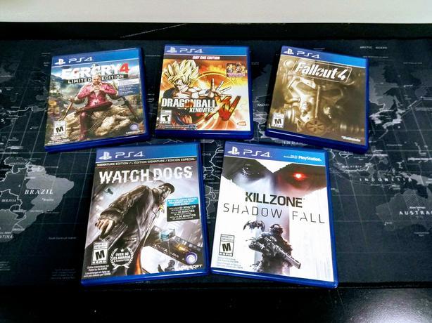 PS4 (5) Game Bundle | Currently $120+tax @ Amazon