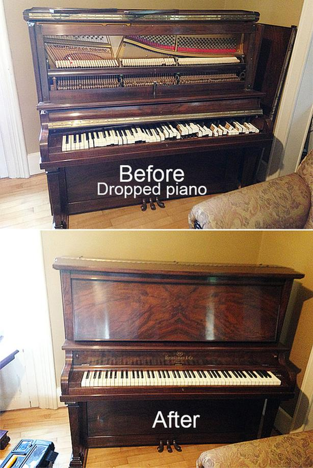 PIANO TUNER/TUNING/ MOVING. GATINEAU/OTTAWA ACCORDEUR DE PIANO