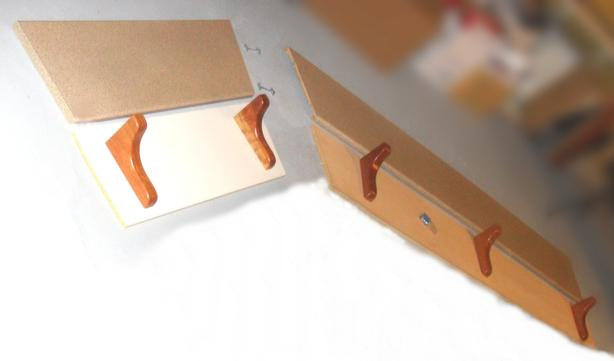 Good Condition Laminate Bartop Pieces with Support Brackets