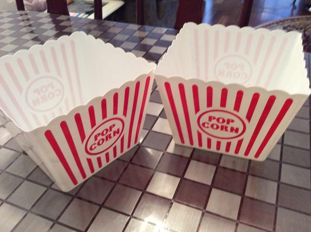 Popcorn tubs (Richmond)