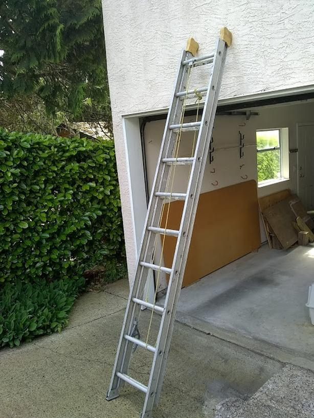 Extension ladder, 20 foot