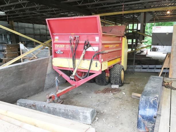 Dump Spreader, Paper Shredder, Steel Safe, Power Tools