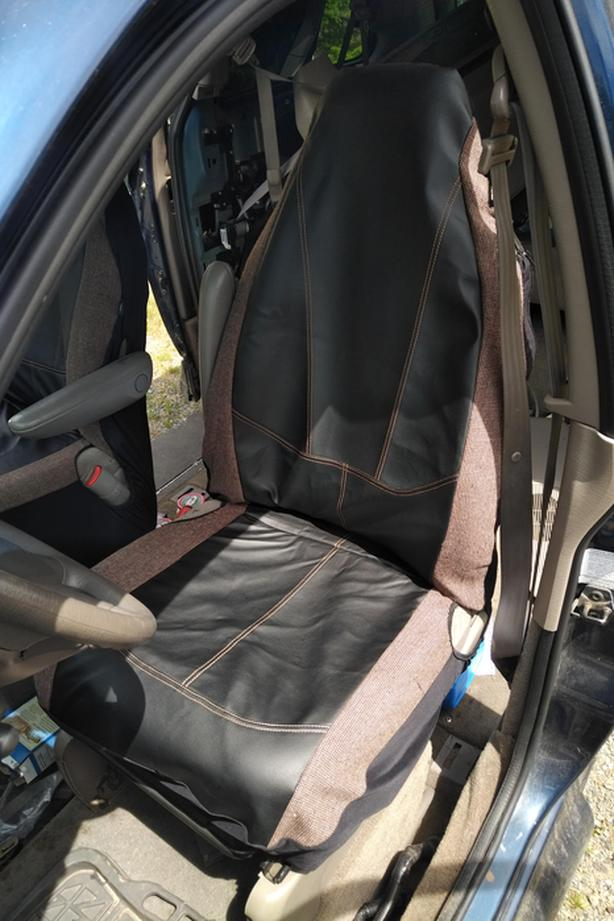 Front Seat Covers for 2002 Dodge Grand Caravan