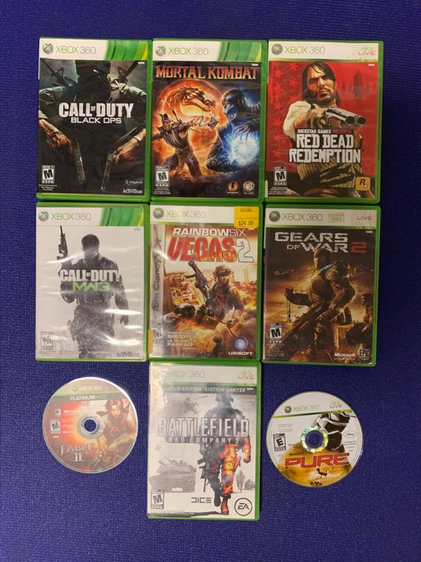 Xbox 360 Games (PRICE DROP)