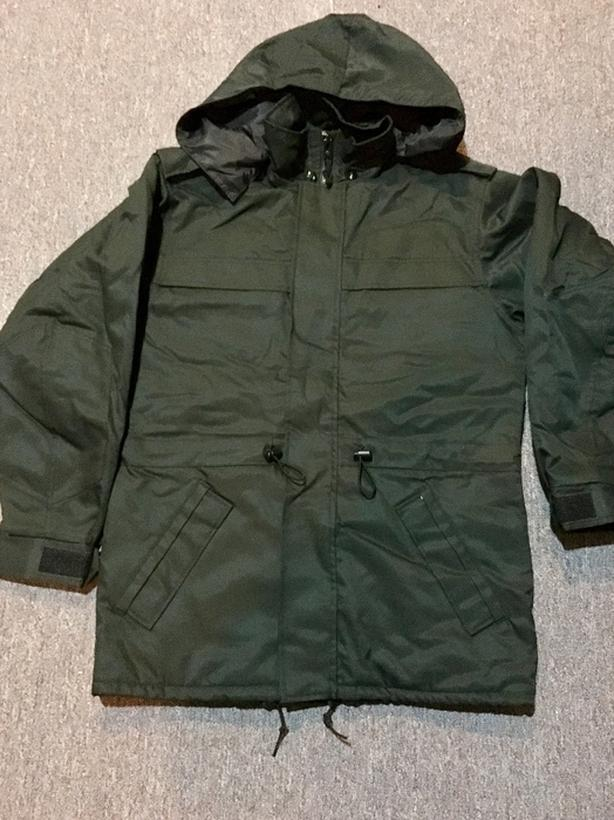 Mens Canadian Military Winter Parka Outside Cowichan Valley, Cowichan
