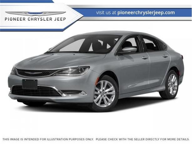 2016 Chrysler 200 Limited  $125 BI/W  UConnect