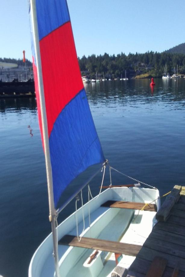 10 foot booth sailing dinghy