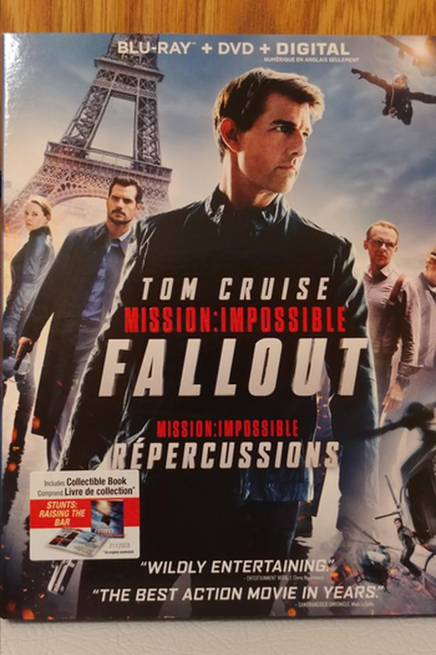 Mission Impossible: Fallout 2018 Blu-ray and DVD movie