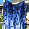"""Moonlight on the Ocean""  GRADUATION Dress or Evening Gown"