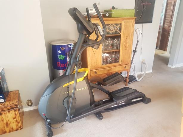 LIVESTRONG LS10.0 ELLIPTICAL TRAINER, GYM QUALITY...