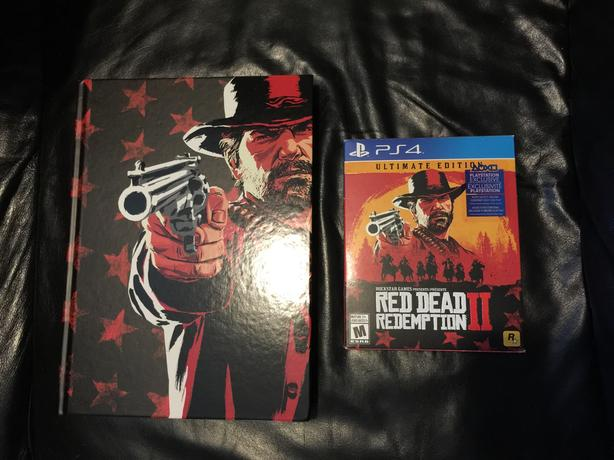 Red Dead 2 Ultimate with collector's guide Ps4
