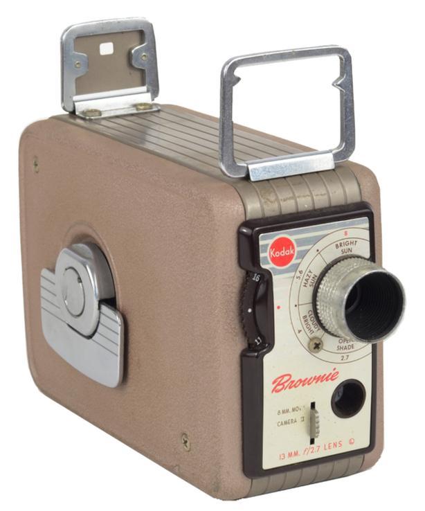 1950's 8 mm Kodak Brownie Movie Camera