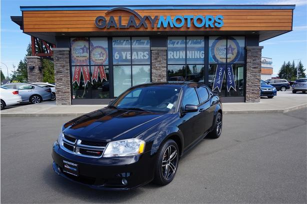 2012 Dodge Avenger SXT- Premium Sound System, BC Only, Heated Front Seats