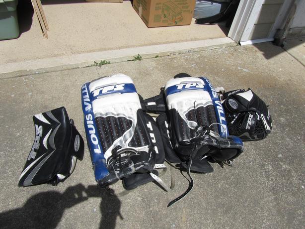 Goalie Gear for Hockey or Street Hockey