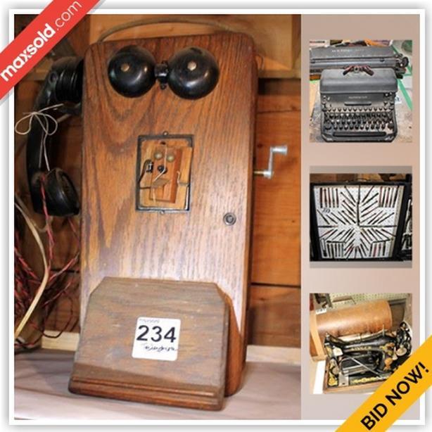 HIGH END AUCTION-Erin Estate Sale Online Auction - 6th Line