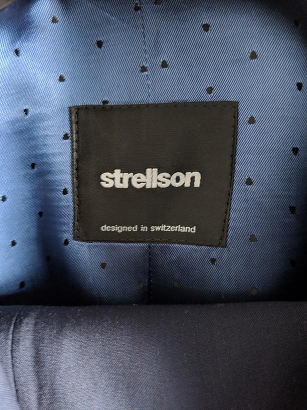 finest selection fc46f cde60 $25 · Navy Blue Strellson suit
