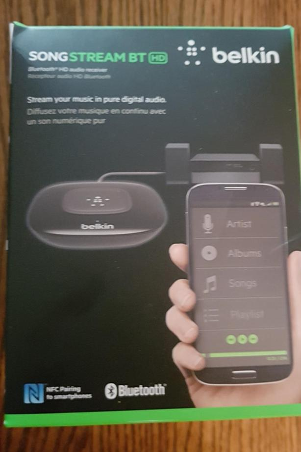 BELKIN SONGSTREAM BLUETOOTH HD - AUDIO RECEIVER