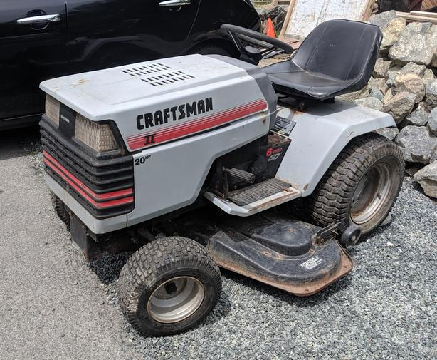  Log In needed $400 · Craftsman GT6000 20hp, 50