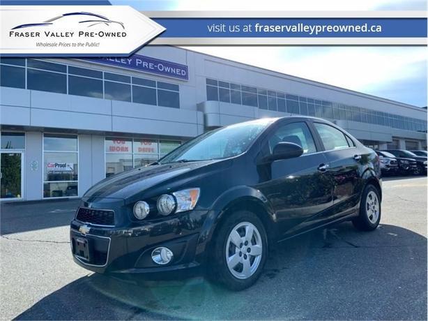2014 Chevrolet Sonic LT  - Bluetooth -  SisiurXM - $78.25 B/W