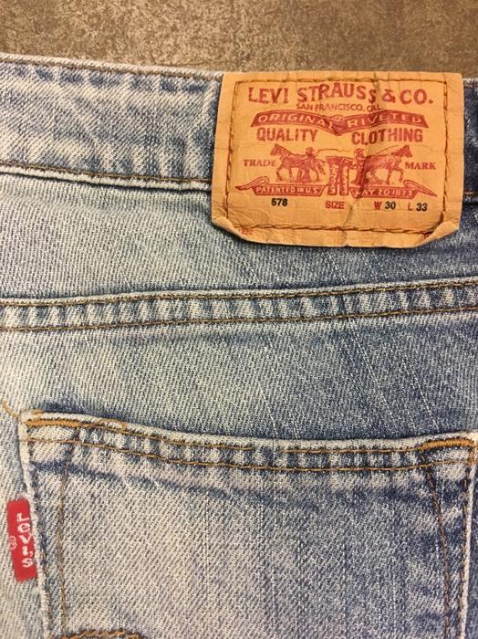 $35 · Levi 578 jeans