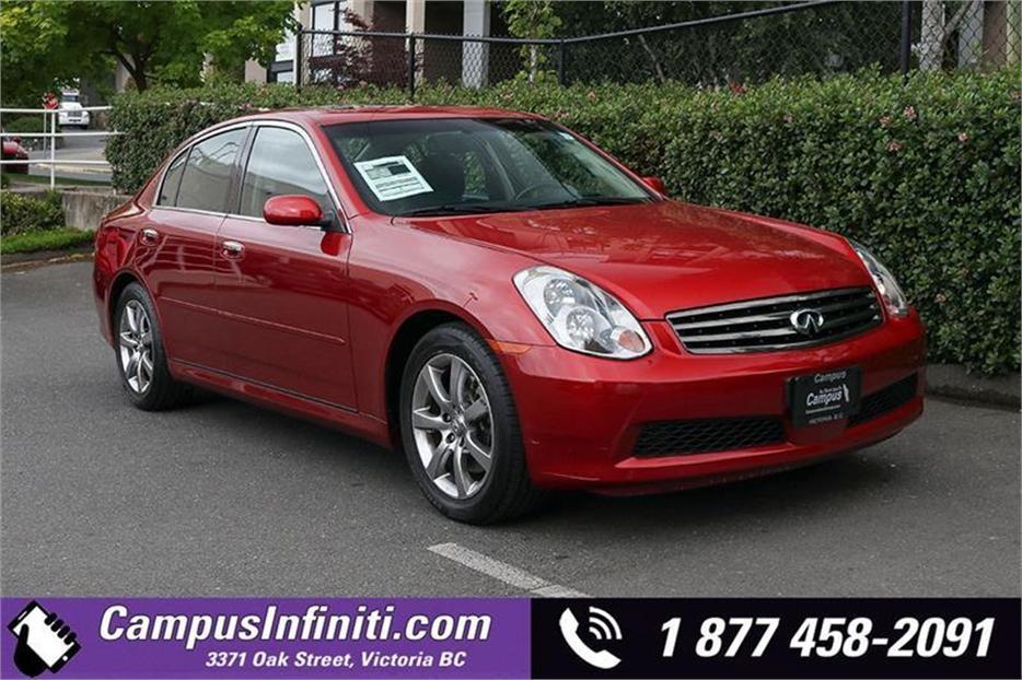 $10,990 · 2005 Infiniti G 35 Sedan | Luxury | RWD w/ Lea