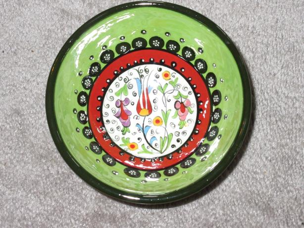 handmade bowl from Turkey - $12