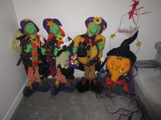 Halloween Decorations - NOW 4 for $20